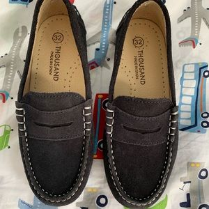 Shoes - Thousand Boy's Suede Loafers- Made in Spain
